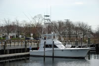 Liberty at Rock Harbor Dock
